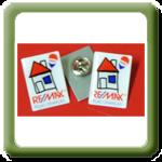 Pin's remax pelas crianças