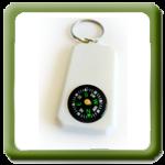Porta-chaves com Bússola