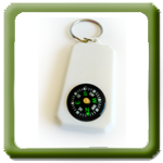 Porta-chaves com B�ssola